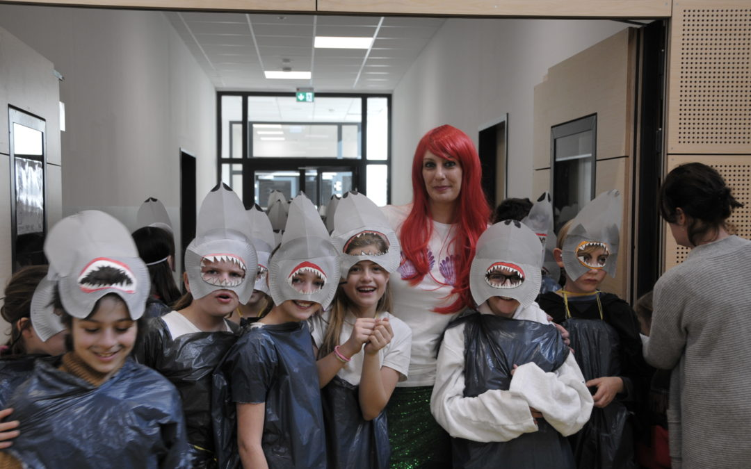 Karneval an der Fleher Schule