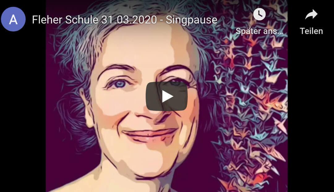 Online-Singpause mit Frau Schwander!