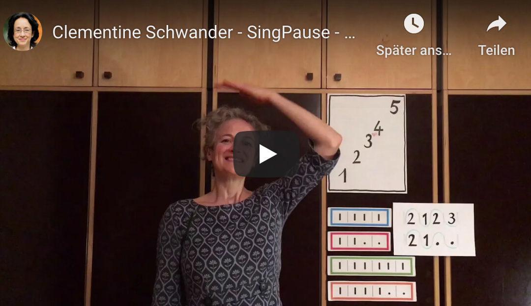 Singpause | 1. Klassen (Kap. 5, Teil 1)